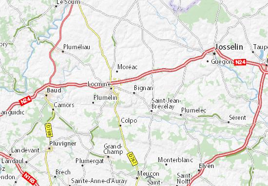 Mapa Plano Bignan