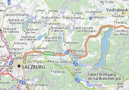 Mapas-Planos Tiefgraben