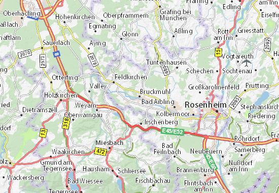 Carte-Plan Bruckmühl