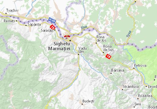 Kaart Plattegrond Vadu Izei