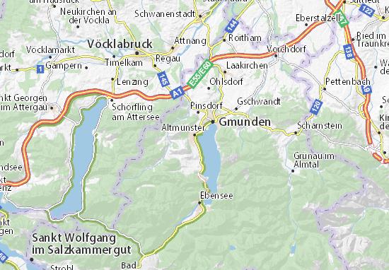 Altmünster Map