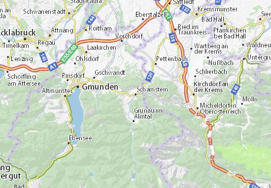 Mapas-Planos Scharnstein