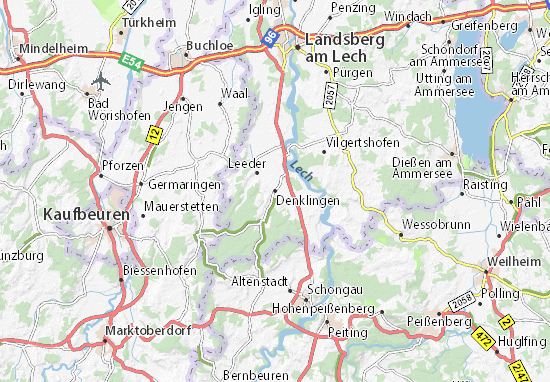 Denklingen Map