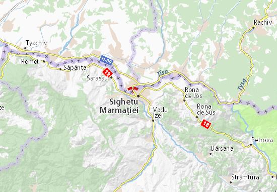 Mapa Plano Sighetu Marmaţiei