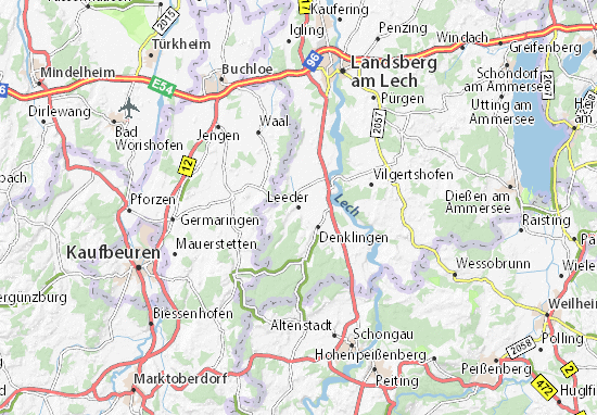 Leeder Map