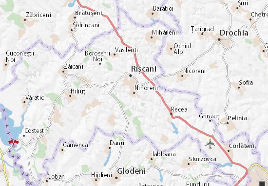 Nihoreni Map