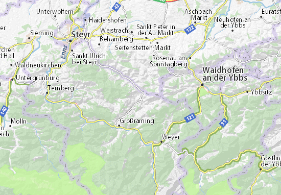 Karte Stadtplan Maria Neustift