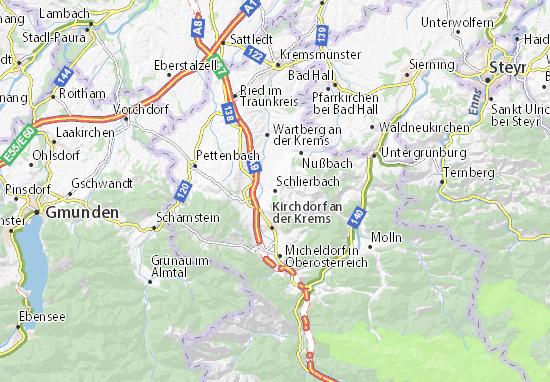 Mapas-Planos Schlierbach