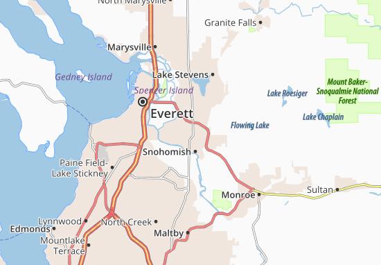 Northwest Snohomish Map