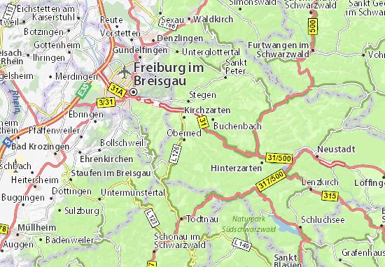 Karte Stadtplan Weilersbach