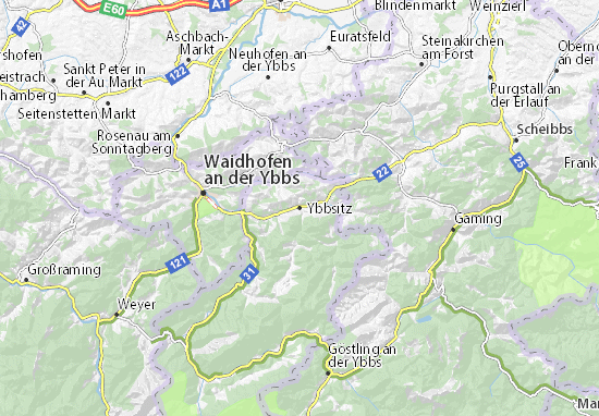 Mappe-Piantine Ybbsitz