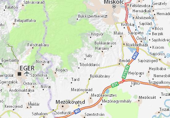 Sály Map
