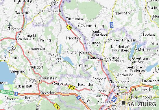 Carte-Plan Kirchanschöring