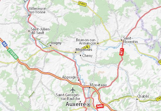 Mapas-Planos Cheny