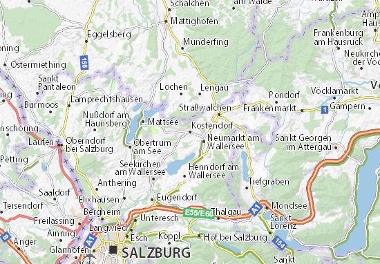 Carte-Plan Köstendorf