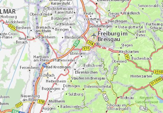 Ebringen Map