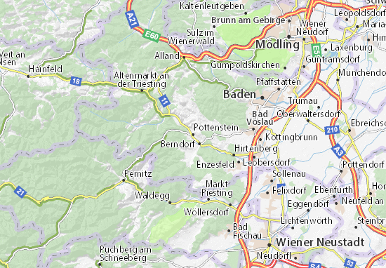 Mappe-Piantine Pottenstein
