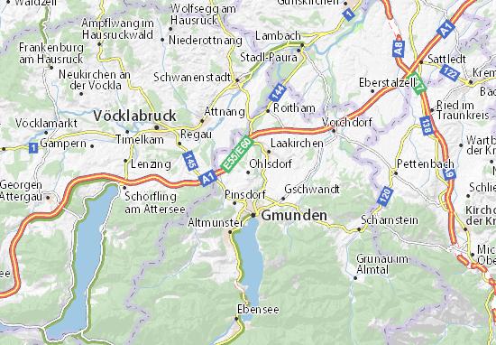 Karte Stadtplan Ohlsdorf