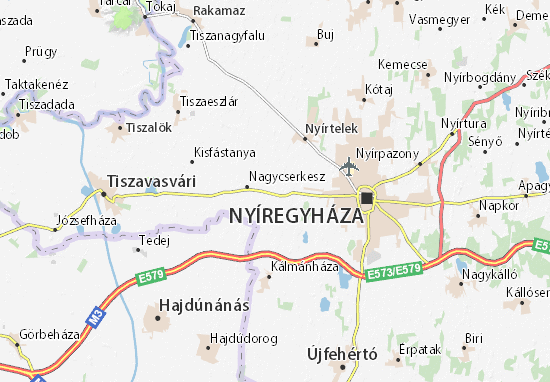 Vajda-bokor Map
