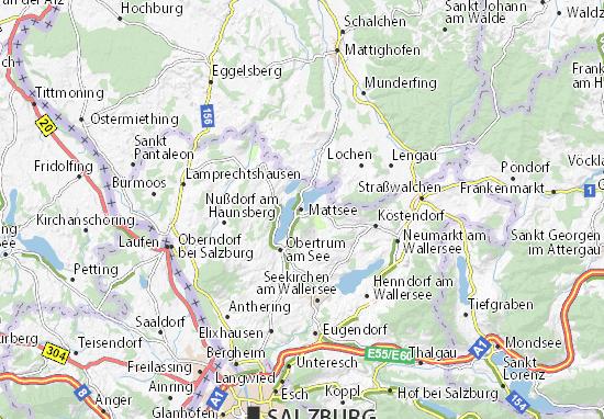 Mattsee Map