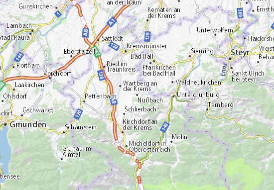 Mapas-Planos Nußbach