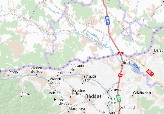 Mapa Plano Bila Krynytsya