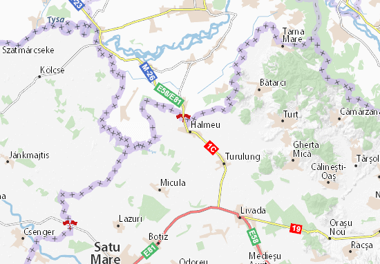 Halmeu Map