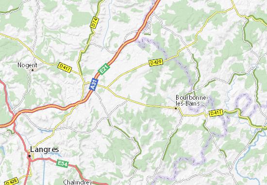Carte-Plan Le Châtelet-sur-Meuse