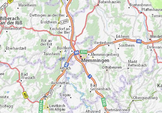 Memmingen Map