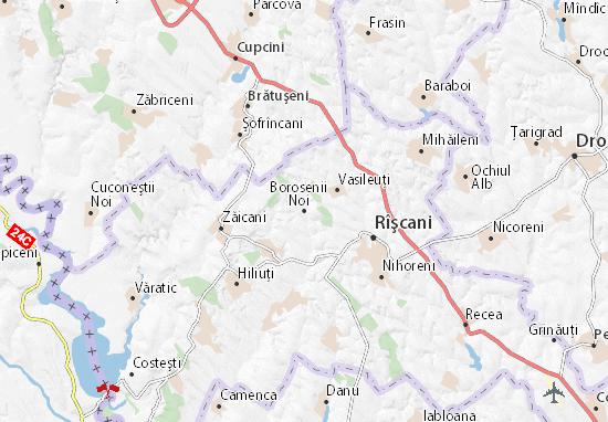 Borosenii Noi Map