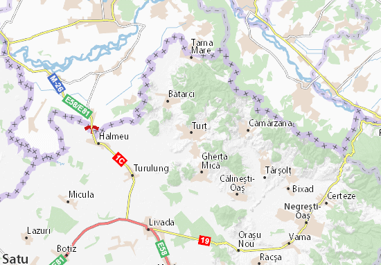 Mappe-Piantine Turţ