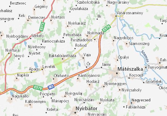Vaja Map