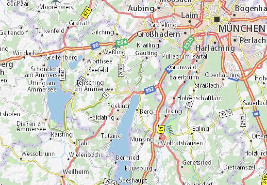 Mapas-Planos Starnberg