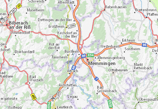 Buxheim Map