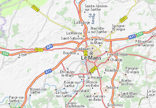 Carte-Plan Rouillon
