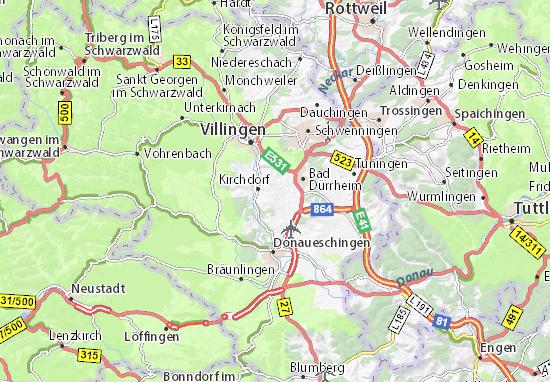 Brigachtal Map