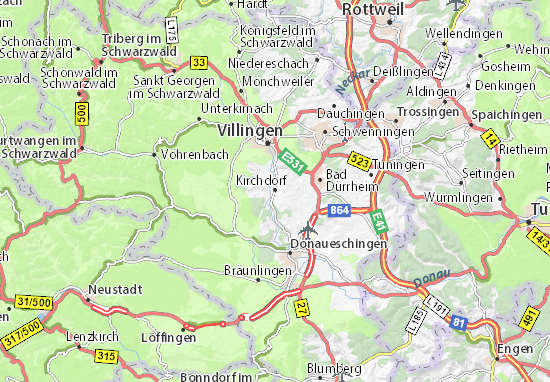 Kirchdorf Map
