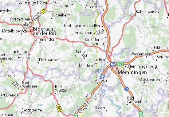 Rot an der Rot Map