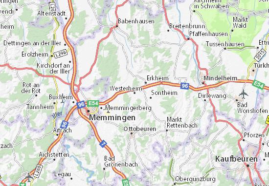 Westerheim Map