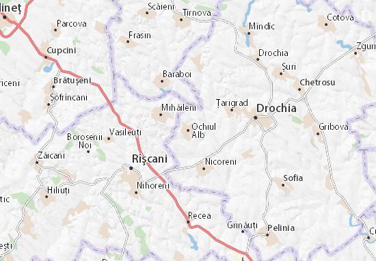 Ochiul Alb Map
