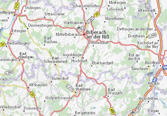 Hochdorf Map