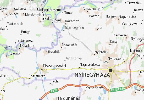 Mapa Bashalom