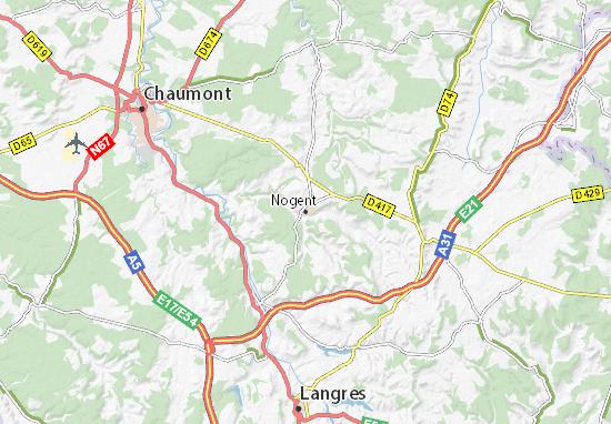 Mappe-Piantine Nogent