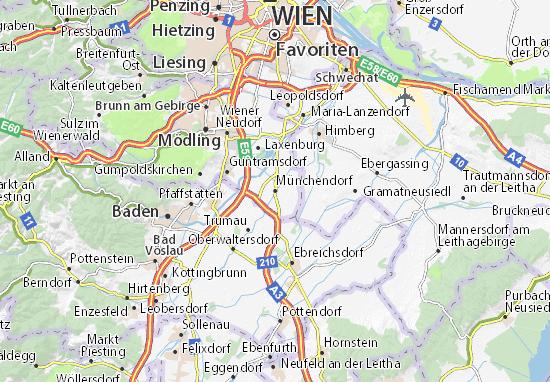 Carte-Plan Münchendorf