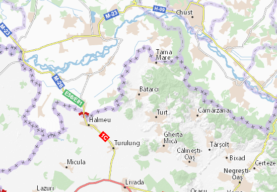 Mapas-Planos Bătarci