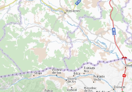Mapas-Planos Nyzhni Petrivtsi