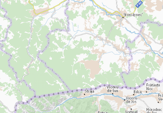 Mapas-Planos Stara Krasnoshora