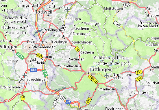 Carte-Plan Rietheim