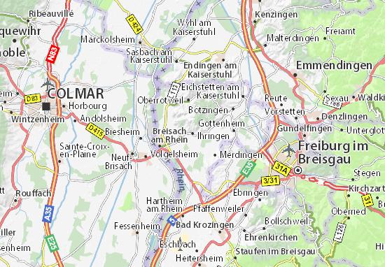 Ihringen Map