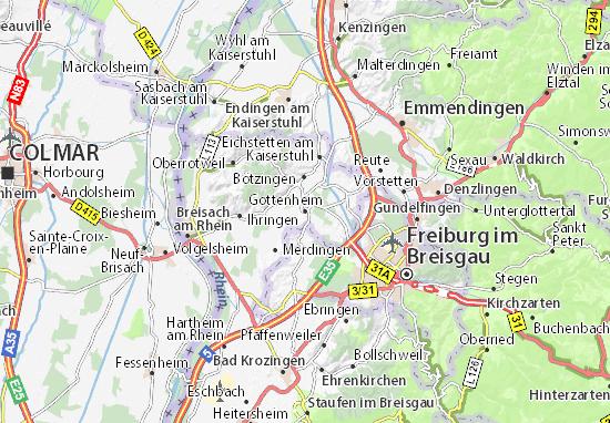 Gottenheim Map